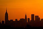 Features around New York City 2010
