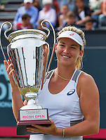 Den Bosch, Netherlands, 12 June, 2016, Tennis, Ricoh Open, Winner Coco Vandeweghe (USA)th<br /> Photo: Henk Koster/tennisimages.com