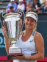 Den Bosch, Netherlands, 12 June, 2016, Tennis, Ricoh Open, Winner Coco Vandeweghe (USA)th<br /> Photo: Henk Koster/tennisimages.com