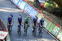 4th September 2021; Sanxenxo to Castro De Herville De Mos, Pontevedra, Spain; stage 20 of Vuelta a Espanya cycling tour;  Deceuninck - Quick Step Jakobsen, Fabio Castro De Herville De Mos