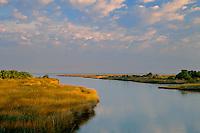 Molasses Creek and Pamlico Sound<br /> Ocracoke Island<br /> Cape Hatteras National Seashore<br /> North Carolina