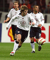 Bobby Convey, US Men's National Team vs Holland's National Team at ArenA in Amsterdam where Ajax plays.