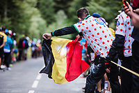 Belgian Fan <br /> <br /> Stage 9 from Pau to Laruns 153km<br /> 107th Tour de France 2020 (2.UWT)<br /> (the 'postponed edition' held in september)<br /> ©kramon