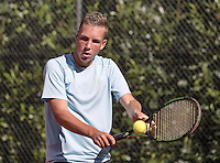Hilversum, Netherlands, August 10, 2016, National Junior Championships, NJK, Stijn Janssen (NED)<br /> Photo: Tennisimages/Henk Koster