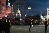 Moscow Victory Parade Rehearsals