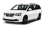 2019 Dodge Grand-Caravan GT 5 Door Minivan Angular Front automotive stock photos of front three quarter view