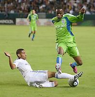 Los Angeles Galaxy vs Seattle Sounders FC November 07 2010