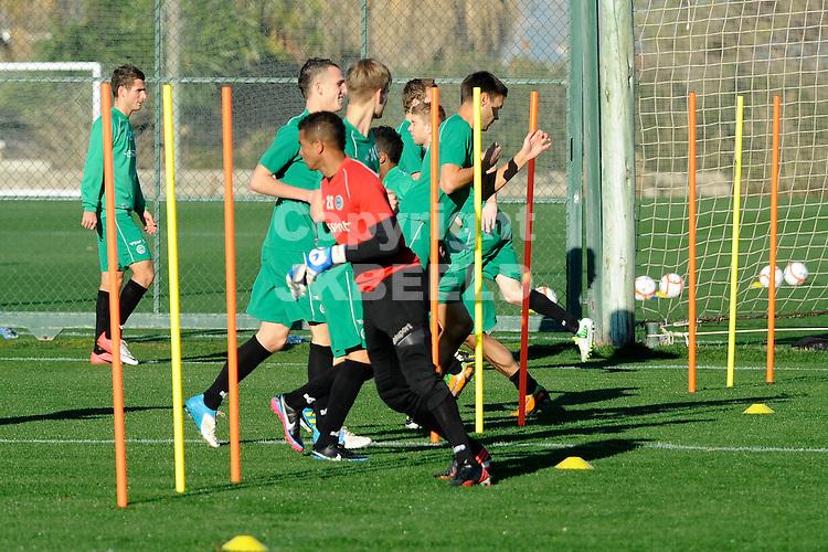 OLIVA - Voetbal, trainingskamp FC Groningen, seizoen 2012-2013, 07-01-2013, ochtend training Luciano