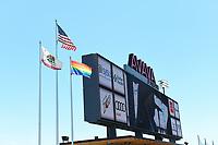 SAN JOSE, CA - JUNE 8: Avaya Stadium during a game between FC Dallas and San Jose Earthquakes at Avaya Stadium on June 8, 2019 in San Jose, California.