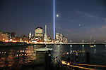 The Buddhist Communities of New York, remembering 9/11 with Lanterns of Light from Pier 40. All who wanted to do so, wrote messages of peace and prayers on paper laneterns which were then floated on the Hudson River at sunset, to make their way down to Ground Zero.