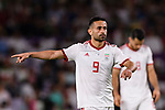 Omid Ebrahimi Zarandini of Iran gestures during the AFC Asian Cup UAE 2019 Semi Finals match between I.R. Iran (IRN) and Japan (JPN) at Hazza Bin Zayed Stadium  on 28 January 2019 in Al Alin, United Arab Emirates. Photo by Marcio Rodrigo Machado / Power Sport Images