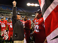 2011 Belk Bowl - Louisville vs. North Carolina State at Bank of America Stadium in Charlotte, North Carolina...Photo by: Patrick SchneiderPhoto.com