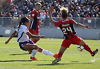 Boyds, MD. - Saturday, March 31 2018:  The Washington Spirit defeated the Orlando Pride 2-0 in a NWSL game at the Maryland Soccerplex.