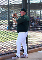 Craig Lefferts, rehab coach - Oakland Athletics 2019 extended spring training (Bill Mitchell)