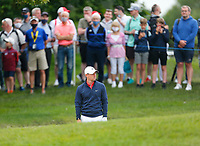 2nd July 2021; Mount Juliet Golf Club, Kilkenny, Ireland; Dubai Duty Free Irish Open Golf, Day Two; Rory Mcilroy of Northern Ireland sets up to take his second shot from the 10th fairway bunker