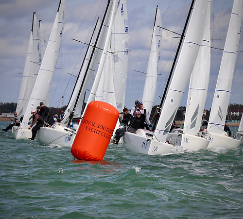 22 teams are competing for the 2020 J/70 National Championships on the Solent
