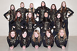 December 3, 2013- Tuscola, IL- The 2013-2014 Warriorettes. Back row from left are Calleigh Miller, Cassie Westjohn, Morgan Day, Shelby North, Andrea Murphy, and Ryce Ward. Middle Row from left are Sarah Lemke, Glenda Wold, Wendy Guo, and Mackenzie Burgess. Front row from left are Rachel Pflum, Laura Murphy, Taylor Grace, Kirstin Kern, and Lauren Moss. [Photo: Douglas Cottle]