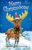 GIORDANO, CHRISTMAS ANIMALS, WEIHNACHTEN TIERE, NAVIDAD ANIMALES, paintings+++++,USGI2336M,#XA# reindeers