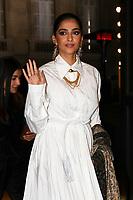Sonam Kapoor<br /> Parigi 22/01/2020<br /> Settimana della moda di Parigi <br /> Moda Donna - Giorgio Armani Ospiti <br /> Photo Gwendolin Le Goff/Panoramic/Insidefoto <br /> Italy Only