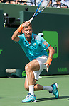March 30 2017: Tomas Berdych (CZE) loses to Roger Federer (SUI) 6-2, 3-6, 7-6, at the Miami Open being played at Crandon Park Tennis Center in Miami, Key Biscayne, Florida. ©Karla Kinne/tennisclix/EQ