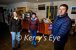 Cronins Yard in Beaufort on Friday, received Leader funding to extend existing tea rooms and kitchen. Front right: John Cronin. Back l to r: Katie Jane and Ester Cronin.