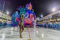 Rio de Janeiro (RJ), 21/02/2020 CARNAVAL - RJ - DESFILE - Desfile das escolas de samba  Unidos da Ponte, da Serie A, nesta sexta-feira (21), no sambodromo, no centro do Rio de Janeiro (RJ). (Foto: Ellan Lustosa/Codigo 19/Codigo 19)