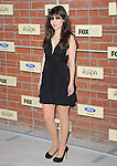 Zooey Deschanel attends The FOX ECO-CASINO PARTY held at The Bookbindery in Culver City, California on September 10,2012                                                                               © 2012 DVS / Hollywood Press Agency