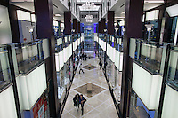 Moscow, Russia, 12/03/2011..The Gold Street area in Vegas, the largest shopping mall in Russia, built by Crocus International, a real estate development company owned and run by Aras Agalarov and his son Emin.