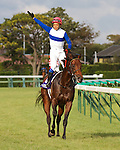 Lord Kanaloa wins the 46th Sprinters Stakes in track record time; 1:06.7 at Nakayama Racecourse in Funabashi, Japan on September 30th, 2012.