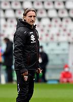 Davide Nicola coach of Torino FC looks on during the Serie A football match between Torino FC and Genoa CFC at stadio Olimpico Grande Torino in Torino (Italy), February 13th, 2021. Photo Giuliano Marchisiano / Insidefoto