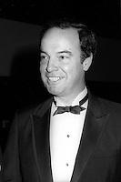 La soiree des ambassadeurs au Palais des congrès de Montréal, le 18 septembre 1985.<br /> <br /> PHOTO : Pierre Roussel -  Agence Quebec Presse