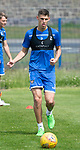 St Johnstone Training….29.06.19   McDiarmid Park, Perth<br />Wallace Duffy<br />Picture by Graeme Hart.<br />Copyright Perthshire Picture Agency<br />Tel: 01738 623350  Mobile: 07990 594431