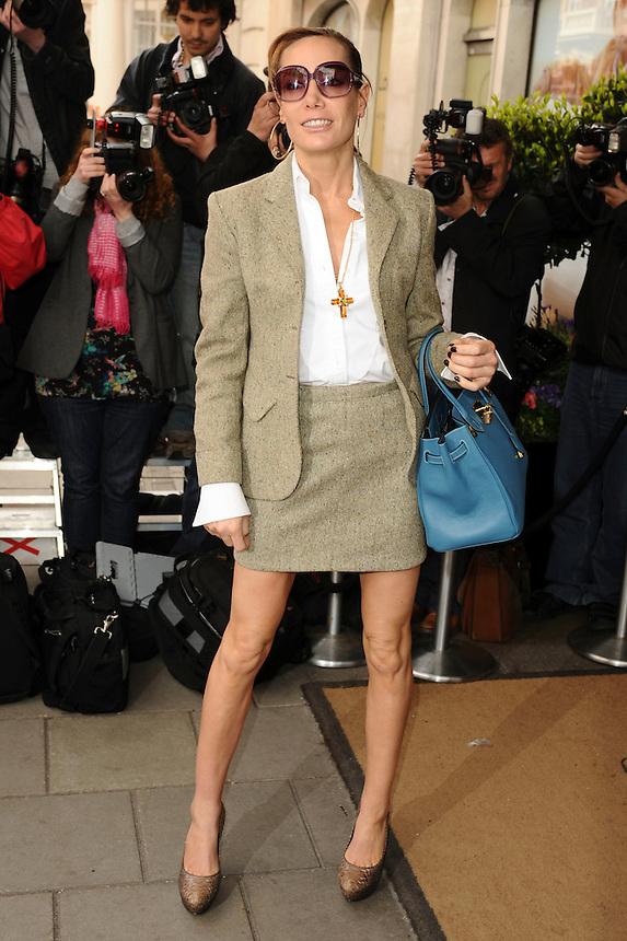 Tpt retro set found dead today <br /> Tara Palmer Tompkinson<br /> arrives for the She magazine inspiring women awards 2010 at Claridges hotel, London.<br /> <br /> ©Ash Knotek  D2035 05/05/2010