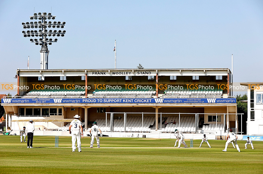 General view of the St Lawrence Ground during Kent CCC vs Worcestershire CCC, LV Insurance County Championship Division 3 Cricket at The Spitfire Ground on 7th September 2021