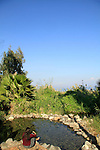 Ein Rakkath by the Sea of Galilee