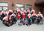 Calgary, AB - June 5 2014 - Celebration of Excellence Heroes Tour visit to Ronald McDonald House in Calgary. (Photo: Matthew Murnaghan/Canadian Paralympic Committee)