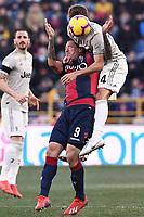 Daniele Rugani-Federico Santander<br /> Bologna 24-02-2019 Stadio Dall'Ara <br /> Football Serie A 2018/2019 Bologna - Juventus<br /> Foto Image Sport / Insidefoto