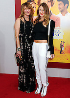 NEW YORK CITY, NY, USA - AUGUST 04: Kate Capshaw, Destry Spielberg at the World Premiere Of Dreamworks Pictures' 'The Hundred-Foot Journey' held at Ziegfeld Theatre on August 4, 2014 in New York City, New York, United States. (Photo by Celebrity Monitor)
