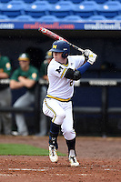 Michigan Wolverines infielder Jacob Cronenworth (2) during the first game of a doubleheader against the Siena Saints on February 27, 2015 at Tradition Field in St. Lucie, Florida.  Michigan defeated Siena 6-2.  (Mike Janes/Four Seam Images)