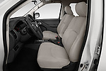 Front seat view of a 2019 Nissan Frontier SV 4 Door Pick Up front seat car photos