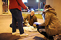 Unity volunteers brave the cold to survey and help the homeless in New Orleans