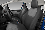 Front seat view of a 2015 Toyota Yaris Le 5 Door Hatchback front seat car photos