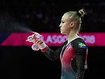 European Championships Glasgow 5th August 2018.  Apparatus Finals Seniors