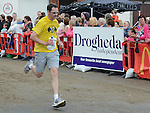 Gary Byrne running in the Integral Clogherhead 10K. Photo:Colin Bell/pressphotos.ie