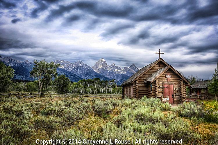 Teton Church - Wyoming - Grand Teton NP
