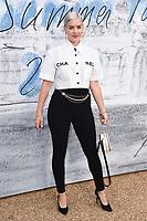 LONDON, UK. June 25, 2019: Anne Marie arriving for the Serpentine Gallery Summer Party 2019 at Kensington Gardens, London.<br /> Picture: Steve Vas/Featureflash