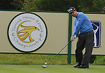 3 October 2008: Charles Warren tees off during the second round at the Turning Stone Golf Championship in Verona, New York