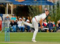 21st September 2021; Aigburth, Merseyside, England; County Championship Cricket, Lancashire versus Hampshire, Day 1; Tom Bailey of Lancashire bowling