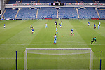 25.07.2020 Rangers v Coventry City: Rangers playing at an almost empty Ibrox due to Coronavirus restrictions