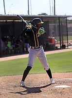 Pedro Pineda - Oakland Athletics 2021 spring training (Bill Mitchell)